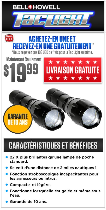 Commandez Tac Light Maintenant!